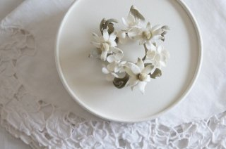 <img class='new_mark_img1' src='https://img.shop-pro.jp/img/new/icons47.gif' style='border:none;display:inline;margin:0px;padding:0px;width:auto;' />Wreath Corsage / Flannel flower & Annabel