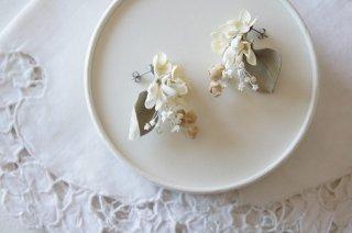 Pierce / Pale dried flower bouquet C