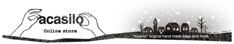 acasilo - アカシロ - ヴィンテージ素材 リメイクでつくるバッグ