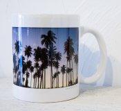 オリジナルマグカップ -Sunset Palms-