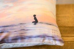 SURF,WAVE,LOVE オリジナルクッションカバー