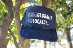 Think Globally Act Locally -メッシュキャップ(low)