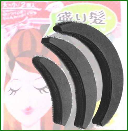 盛り髪ベース 3個入り