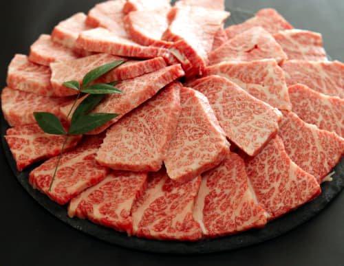 能登牛特選霜降りカルビ 焼肉用 (550g)