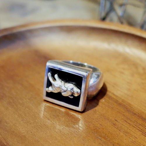 オニキスリングの商品画像