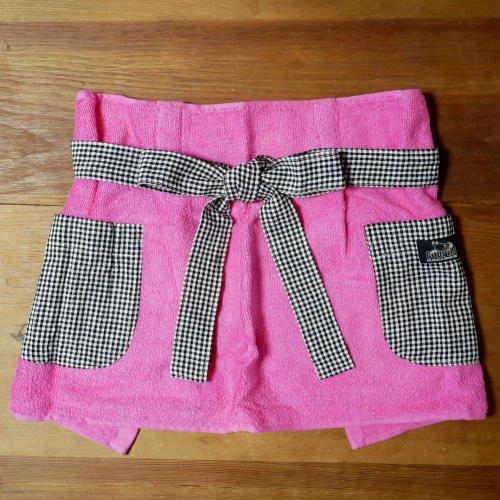 タオルエプロン(ピンク)の商品画像