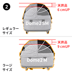 AIRBUGGY DOME 3 BRAKEMODEL