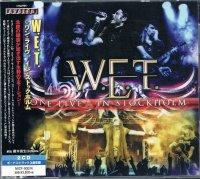 W.E.T./ワン・ライヴ−イン・ストックホルム(2CD)