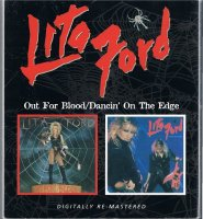 <img class='new_mark_img1' src='https://img.shop-pro.jp/img/new/icons25.gif' style='border:none;display:inline;margin:0px;padding:0px;width:auto;' />LITA FORD/Out For Blood+Dancin' On The Edge
