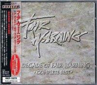 フェア・ウォーニング/ア・ディケイド・オヴ・フェア・ウォーニング(初回2CD)