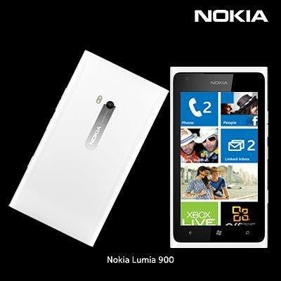 【送料無料】【即納】 ノキア製 Nokia Lumia 900 (シムフリー)(ホワイト)