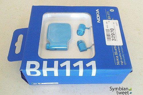 【送料無料】【即納】 ノキア製 Nokia Bluetooth Headset BH-111 (nokiaブルー)