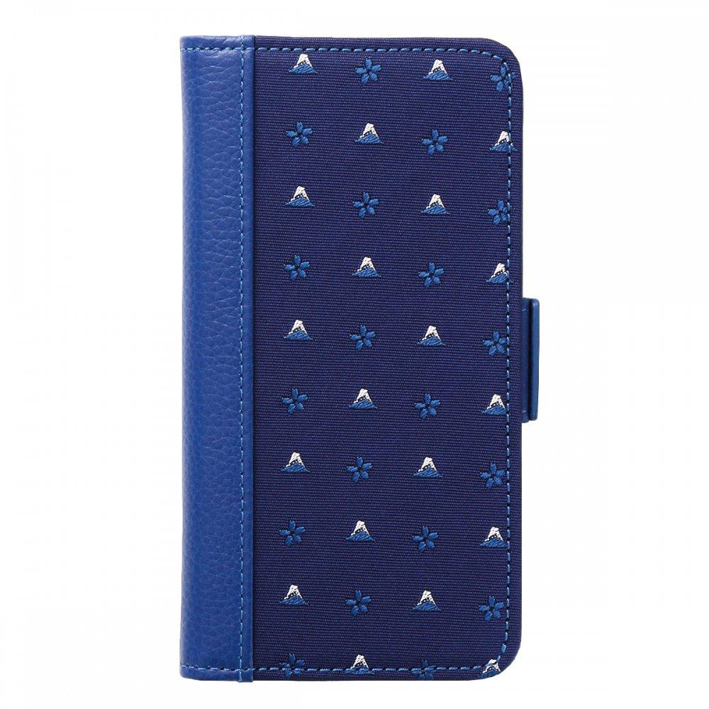 18. HOKUSAI 紺青 iPhone(6,7,8対応)...