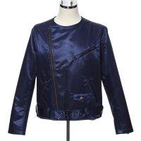 ライダースジャケット メンズ - 16. サムライ SP ブルー Lサイズ(フリーサイズ)