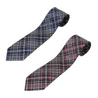 ネクタイ 西陣織 シルク 2本セット チェック柄 10%オフ- 20. UKIYOE(裏地浮世絵)2カラーセット 日本製