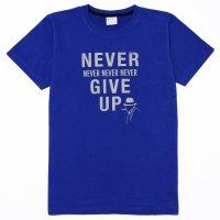 【6月20日まで!父の日キャンペーン中】抗ウイルス 抗菌加工 Tシャツ ユニセックス「Never Give Up」 ネバー・ギブ・アップ ティーシャツ 日本製