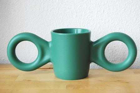 ダンボ マグカップ(ダークグリーン)