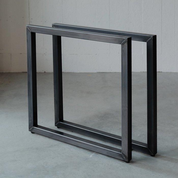 角パイプロノ字脚(40×40)