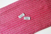 リントン社シャネルツイード bright pink and white fabric