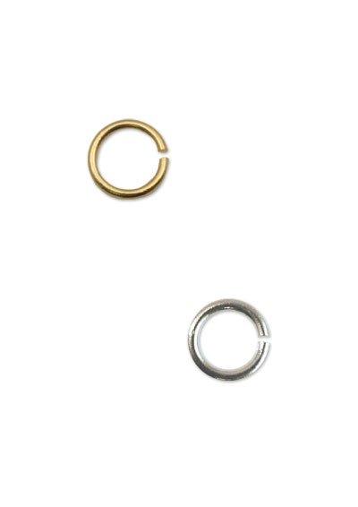 丸カン12mm ゴールド 4個入り