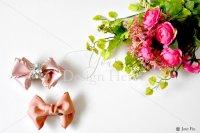 【写真素材】ラブリボン、ピンク ミランダ アンジェリーナ、花、ローズ、花束(Mサイズ)