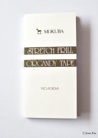 MOKUBA4304 STRETCH FRILL ORGANDY TEPEミニ見本帳