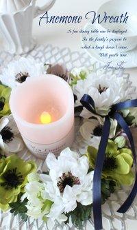 『Anemone wreath』-アネモネリース-