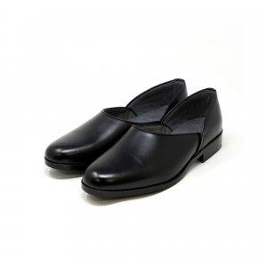 広巾 本革法衣靴(ドクターシューズ/道中沓/法務履)  #TS1205