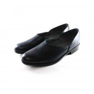 【受注生産】コードバン ネイビー 本革法衣靴(ドクターシューズ/道中沓/法務履)  #TS1305 ネイビー