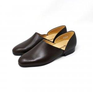 法衣靴(ドクターシューズ/道中沓) ハルタ スポック #SF850 スムースレザー ブラウン