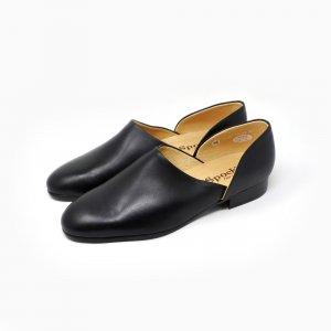 法衣靴(ドクターシューズ/道中沓) ハルタ スポック #SF850 スムースレザー ブラック