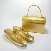 礼装用 本革草履バッグセット