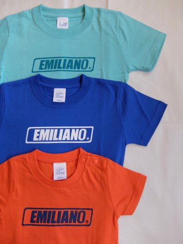 Emiliano BOX LOGO Kid's Tee