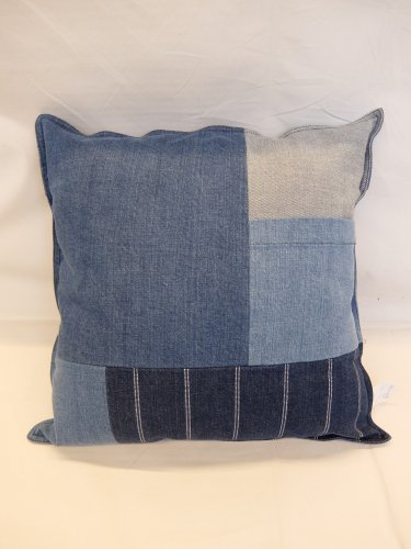 Emiliano original patchwork cushion