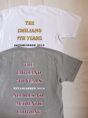 Emiliano 7th year tee
