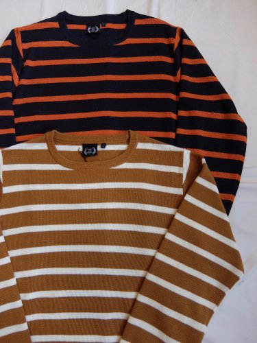 430 L/S BORDER SWEATER