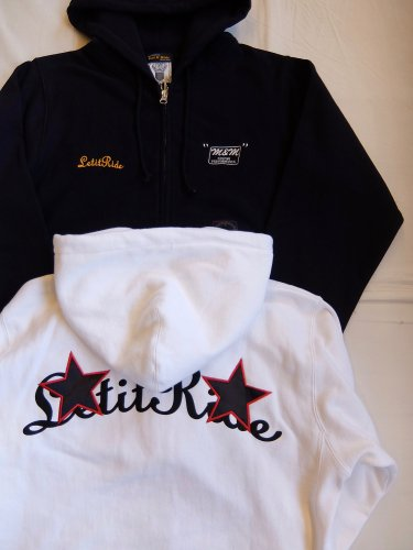 M&M×Let it Ride LIR BASIC STAR ZIP PARKA