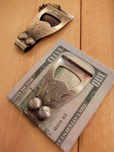 RADIALL CHROME LADY - MONEY CLIP