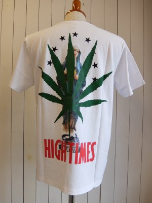HIGHTIMES × WACKO MARIA WASHED HEAVY WEIGHT CREW NECK T-SHIRT (TYPE-11)