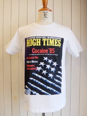 HIGHTIMES × WACKO MARIA WASHED HEAVY WEIGHT CREW NECK T-SHIRT (TYPE-3)