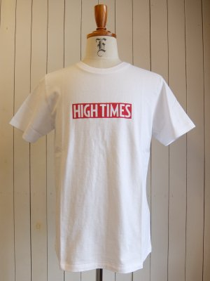 HIGHTIMES × WACKO MARIA WASHED HEAVY WEIGHT CREW NECK T-SHIRT (TYPE-9)