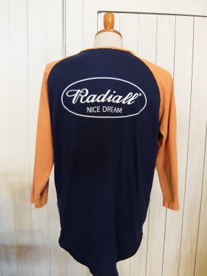 RADIALL OVAL-CREW NECK T-SHIRT 3Q/S