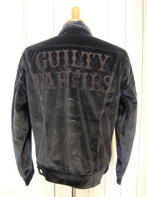 WACKO MARIA VELOUR TRUCKER JACKET(TYPE-2)