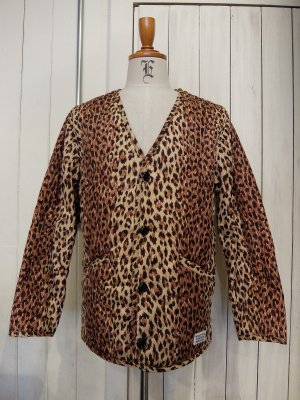 WACKO MARIA LEOPARD QUILTED JACKET (TYPE-1)