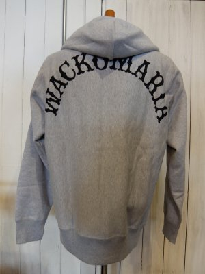 WACKO MARIAHEAVY WEIGHT FULL ZIP HOODED SWEAT SHIRT (TYPE-2)
