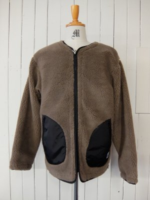 TOY PLANE REVERSIBLE BOA JACKET