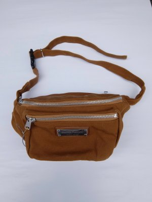 WACKO MARIA WASHED CANVAS WAIST BAG