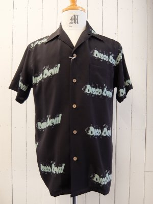 WACKO MARIA DISCO DEVIL S/S HAWAIIAN SHIRT (TYPE-2)