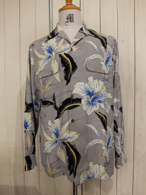 WACKO MARIA HAWAIIAN SHIRT L/S (TYPE-7)
