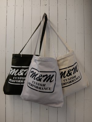 M&M CANVAS TOTE BAG